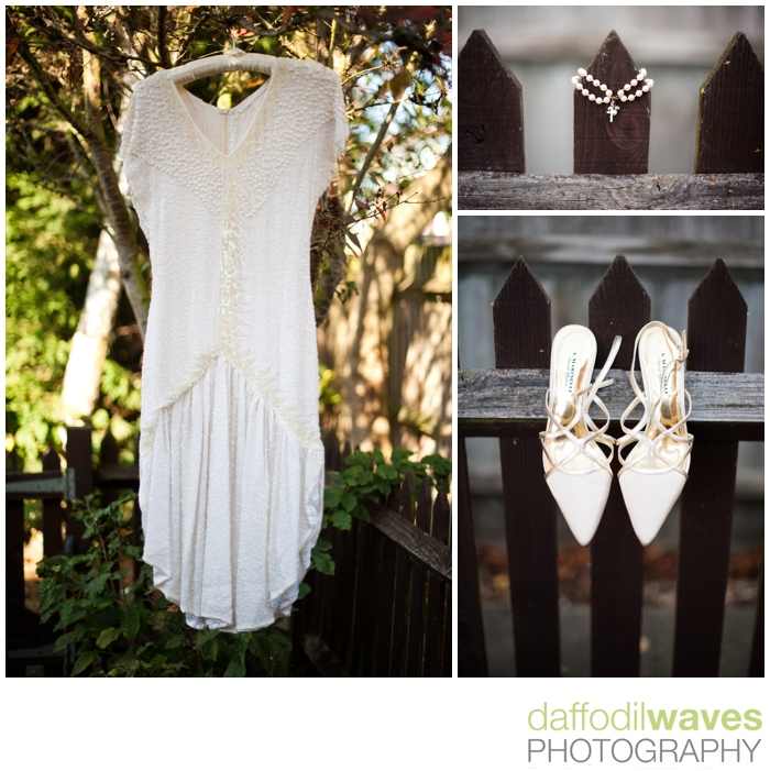 The Belvedere Wedding - Maike & Adam - Brides Dress & Shoes