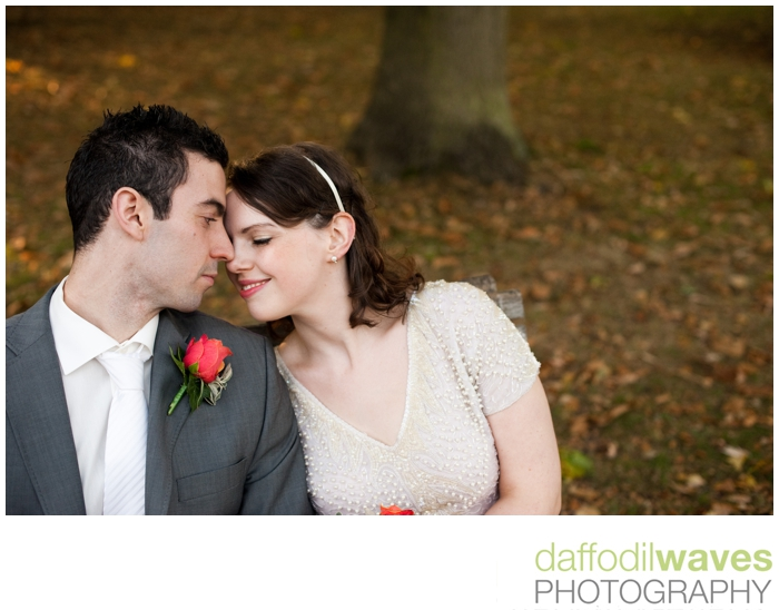 The Belvedere - Richmond Park - Maike & Adam - Bride & Groom