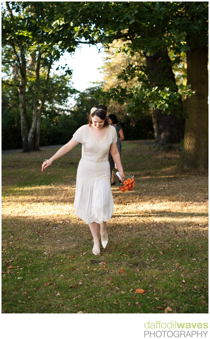 Richmond Park Wedding - Maike & Adam - Bride