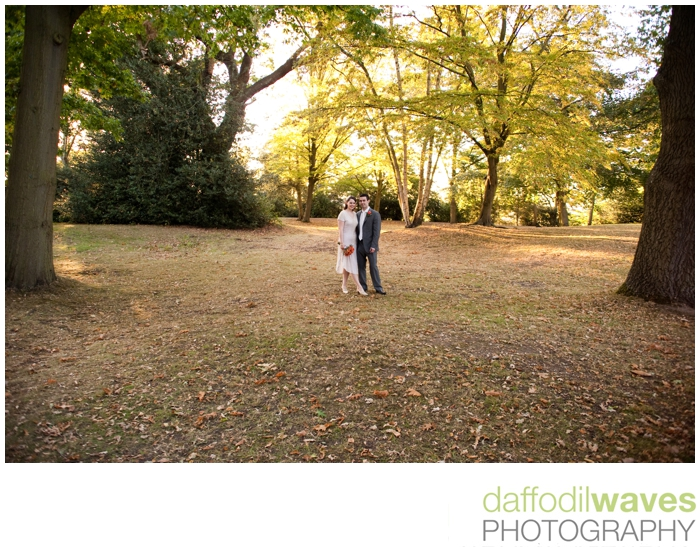 The Belvedere - Richmond Park - Maike & Adam - Bride & Groom 1