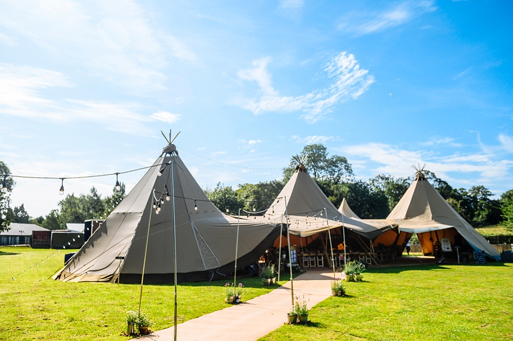 Tipi Wedding Photography – Harrie and Matt