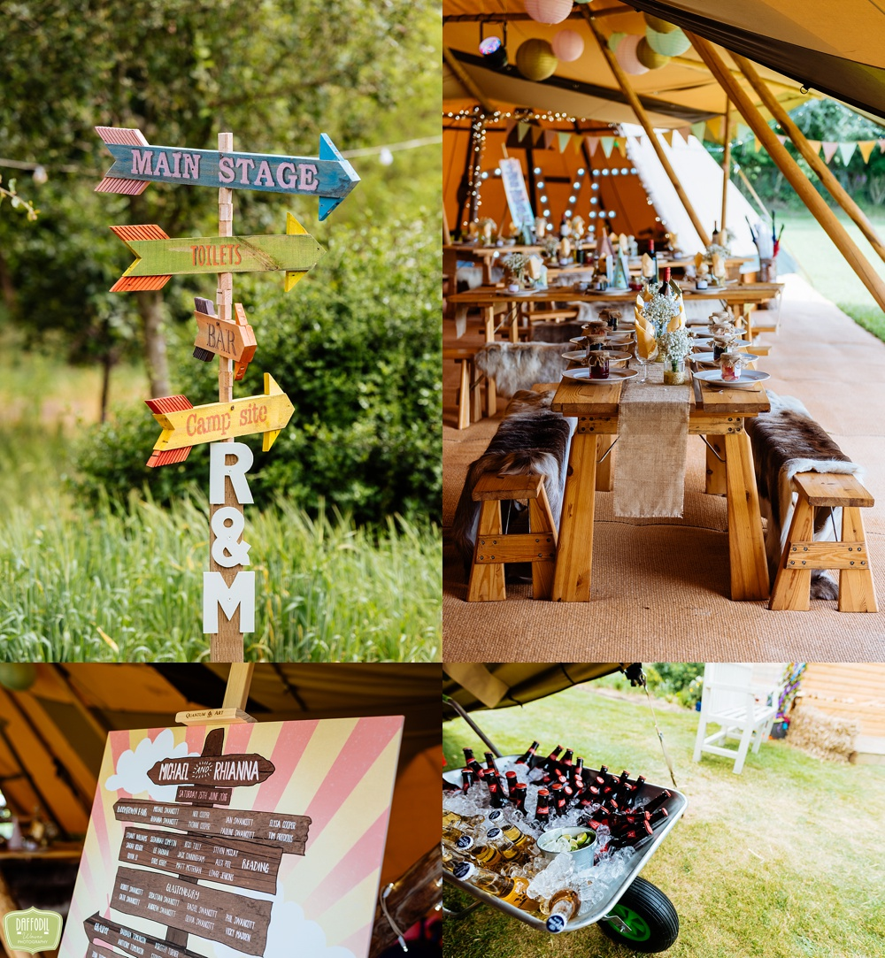 Tipi Wedding Photographer - The best of! - Daffodil Waves