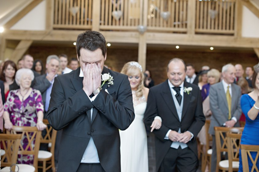 Wedding photographer Mythe Barn